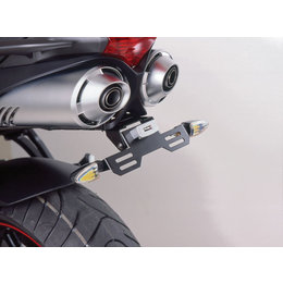 Puig Fender Eliminator Kit Black For Yamaha FZ6 FZ-6 2004-2007