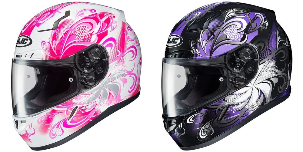 149 99 Hjc Womens Cl 17 Cl17 Cosmos Full Face Motorcycle