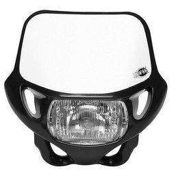 Black Acerbis Dhh Dot Ce Offroad Mx Headlight 12v-35w