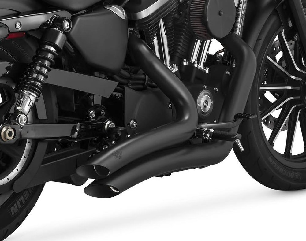 $699.99 Vance & Hines Big Radius 2 Into 2 Full Exhaust #209883