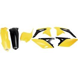 UFO Plastics Complete Plastic Body Kit For Suzuki RMZ250 2010-2015 SUKIT416-999 Yellow