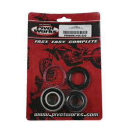 N/a Pivot Works Wheel Bearing Kit Rear For Honda Cr250 500r 89