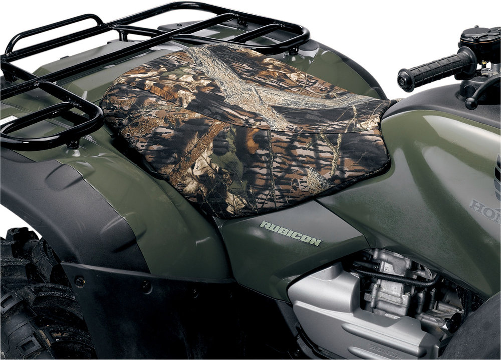 Honda Atv Seat Covers : Moose racing cordura atv seat cover mossy oak for