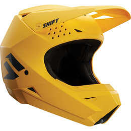 Shift Racing Whit3 White Label MX Helmet CLOSEOUT Yellow