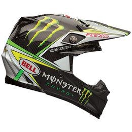 Bell Powersports Moto-9 Carbon Flex Pro Circuit Replica Helmet Black