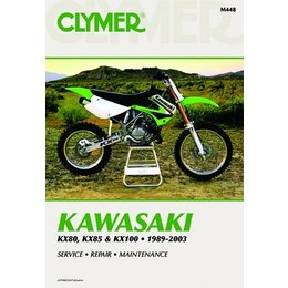 Clymer Repair Manual For Kawasaki KX80 KX85 KX100 89-03
