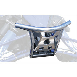 Skinz Standard ChromAlloy Front Bumper For Yamaha Polished Aluminum YPFB600-AL Silver