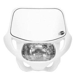 White Acerbis Dhh Dot Ce Offroad Mx Headlight 12v-35w