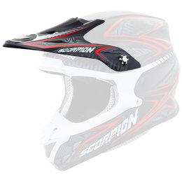 Scorpion VX-R70 Blur Replacement Visor Peak MX/Offroad Helmet Accessory Black