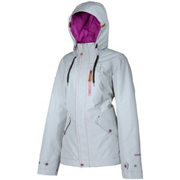 Klim Womens Aria Gore-Tex Insulated Textile Snowmobile Jacket Grey
