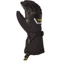 Klim Mens Fusion Gore-Tex Insulated Textile Snowmobile Gloves Black