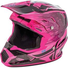 Fly Racing Toxin Resin Graphic MX Helmet Black