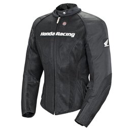 Black Joe Rocket Womens Honda Speed Mesh Jacket 2014
