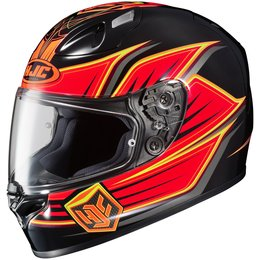 Orange Hjc Mens Fg-17 Banshee Full Face Helmet 2014
