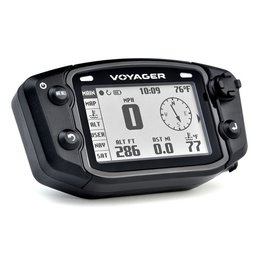 Trail Tech Voyager GPS Kit For Arctic Cat Can-Am Kawasaki Suzuki Yamaha 912-2010 Black