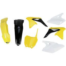 UFO Plastics Complete Plastic Body Kit For Suzuki RMZ250 2010-2015 SUKIT415-999 Yellow