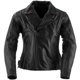 Black Brand Womens Sapphire Leather Jacket