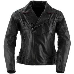 Black Brand Womens Sapphire Leather Jacket