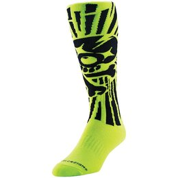 Troy Lee Designs Youth Boys Skully GP Motocross Acrylic Socks Yellow