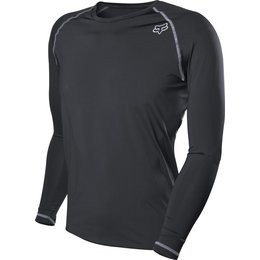 Fox Racing Mens Frequency Long Sleeve Base Layer Shirt