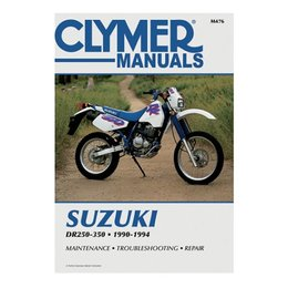 Clymer Repair Manual For Suzuki DR250S DR350 DR350S 90-94