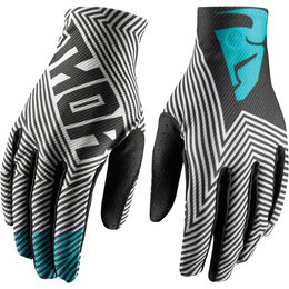 Thor Youth Boys Void Geotec MX Gloves Black