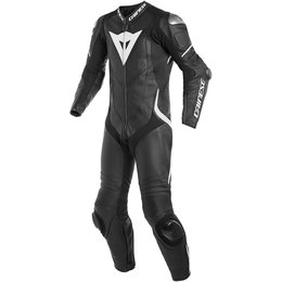 Dainese Mens Laguna Seca 4 1 Piece Perforated Leather Suit Black