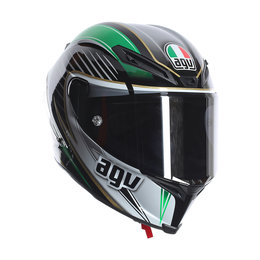 AGV Corsa Racetrack Full Face Motorcycle Helmet With Tear-Off Shield