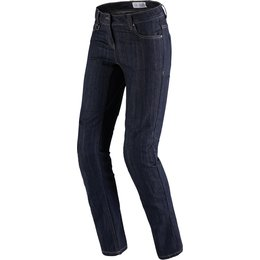 Spidi Sport Womens J-Flex Armored Denim Riding Jeans Blue