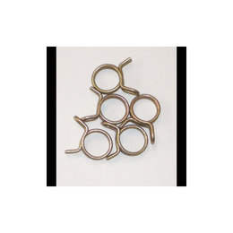 Helix Racing Hose Clamps 7/16 OD 150 Piece Zinc