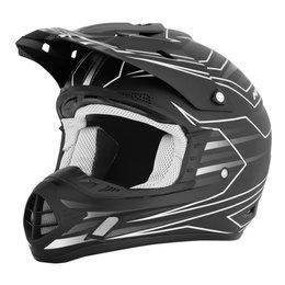 AFX FX-17 FX17 Mainline MX Helmet Black