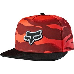 Fox Racing Womens Vicious Snapback Adjustable Hat Red
