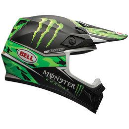 Bell Powersports MX-9 Pro Circuit Replica Helmet Green