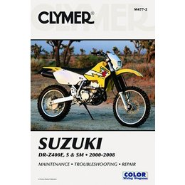 Clymer Repair Manual For Suzuki DRZ400E/S/SM 00-09