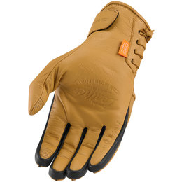 Icon Mens 1000 Collection Baserunner Leather Gloves Brown