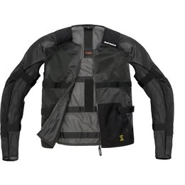 Spidi Sport Mens Airtech Armor Protection Jacket Black