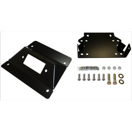 Dragonfire Racing RacePace Front Bumper Winch Mount Kit For Can-Am Black 01-2129 Black