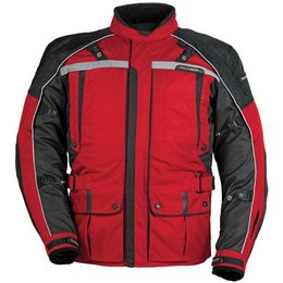Red, Black Tour Master Transition Series 3 Textile Jacket Red Black