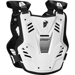 Thor Youth Boys Sentinel GP Chest/Back Roost Guard Protector White