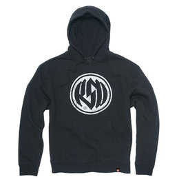 RSD Mens Identity Cotton Polyester Blend Pullover Hoodie Black