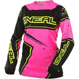 Oneal Womens Element Racewear Jersey Black, Pink
