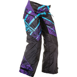 Fly Racing Youth Girls Kinetic Over The Boot OTB Pants Purple