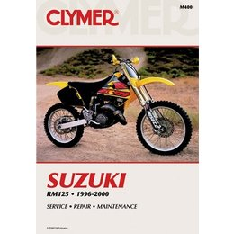 Clymer Repair Manual For Suzuki RM125 RM-125 96-00
