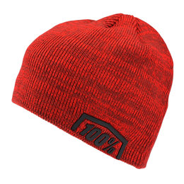 100% Mens Essential Acrylic Beanie Red