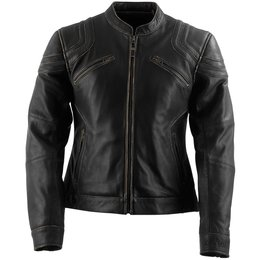Black Brand Womens Charmer Leather Jacket