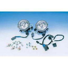 Clear Show Chrome Lower Fog Light Replacement Lens For Honda Gl1800