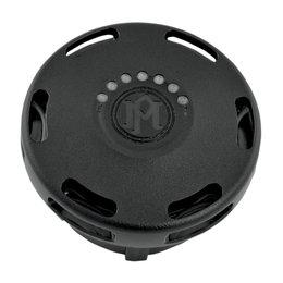 Performance Machine Apex Fuel Gauge Gas Cap Harley Black Ops 0210-2025APX-SM Black