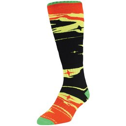 Troy Lee Designs Mens Galaxy GP Motocross Acrylic Socks Black