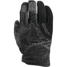 Speed & Strength Unisex United By Speed Mesh/Textile Riding Glove Black