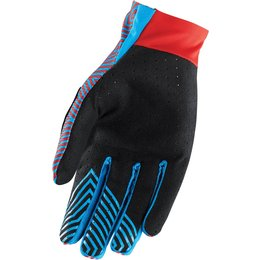 Thor Youth Boys Void Geotec MX Gloves Red